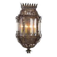 Odessa Collection Four Light Outdoor Wall Fixture