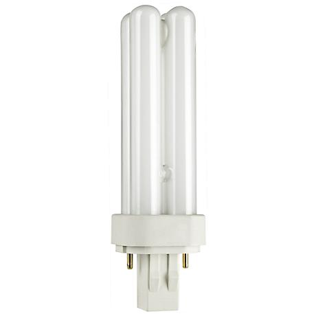 Two- Pin Quad 13-Watt Compact Fluorescent Light Bulb