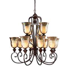 Elba Collection Twelve Light Chandelier