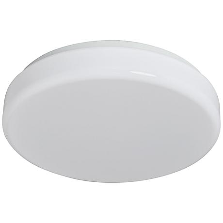 "Cumulous Flushmount 14"" Wide White LED Ceiling Light"