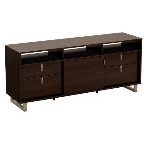 Uber 4-Drawer Mocha TV Stand