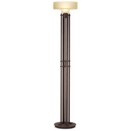 Urban City Dark Rust Floor Lamp