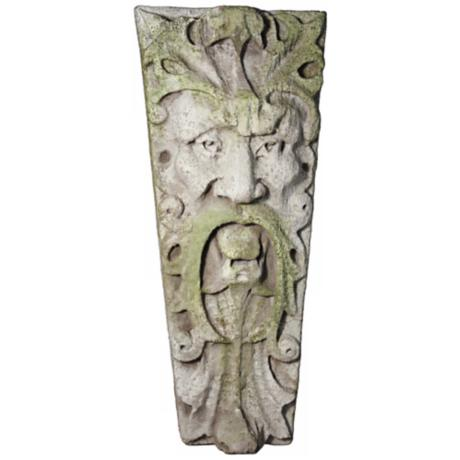 "Mouth of Truth 16"" High Outdoor Wall Sculpture"