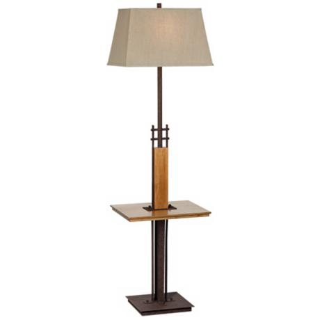 Westfork Rust Tray Table Floor Lamp