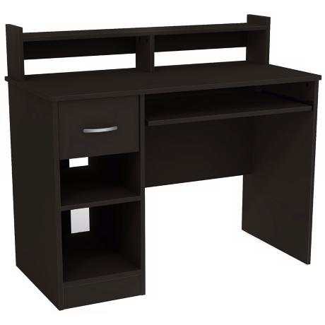 Axess 1-Drawer Pure Black Desk
