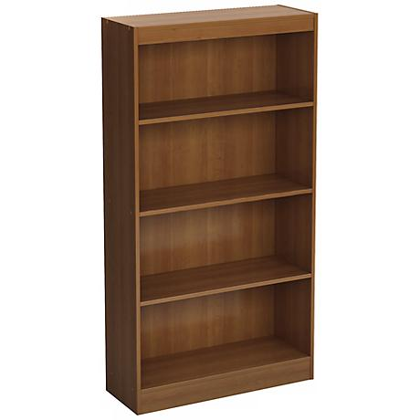 Axess 4-Shelf Morgan Cherry Bookcase