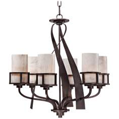 "Kyle 6-Light 28"" Wide Chandelier  by Quoizel"