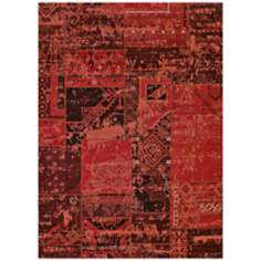 Runway Collection Miranda 425-00438 Red Area Rug