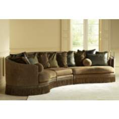 Whitney Barlow Bronze 3-Piece Sectional Sofa