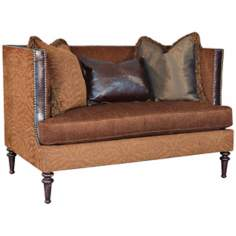 Sherwood Burnished Joelle Settee