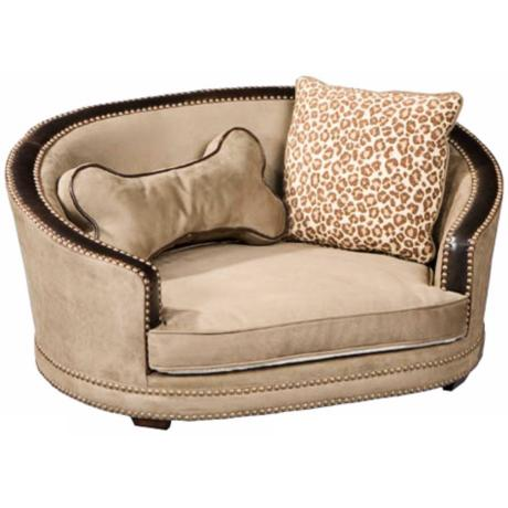Fido Suede Speckle Small Dog Bed