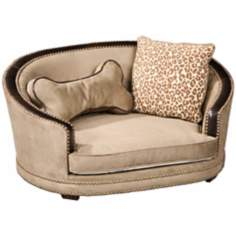 Fido Suede Speckle Large Dog Bed