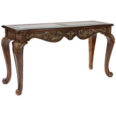 Babette Chateau Brown Sofa Table