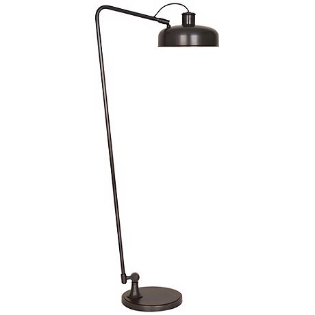 Robert Abbey Albert Deep Patina Bronze Floor Lamp