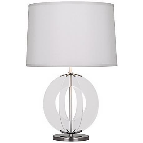 Robert Abbey Latitude Antique Nickel Table Lamp