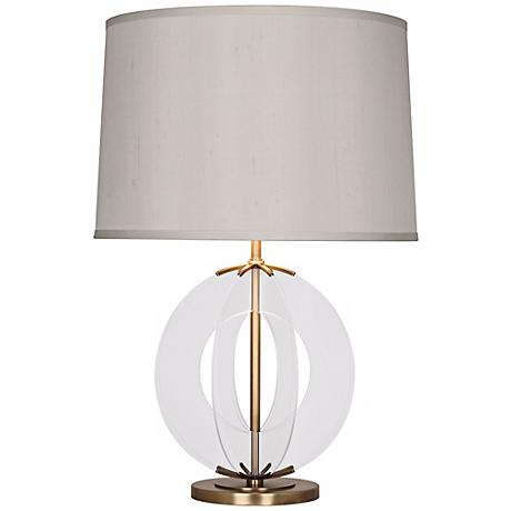 Robert Abbey Latitude Aged Brass Table Lamp