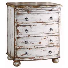 Rustic Chic Distressed Cotton Chest