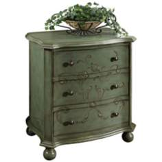 Artistic Expressions Blue Mist Accent Chest