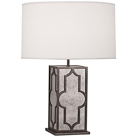 Robert Abbey Addison Pearl and Nickel Table Lamp