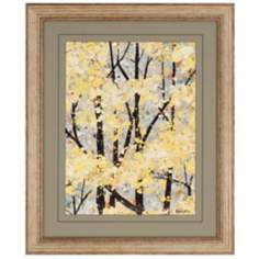 "Early Spring II 34"" High Framed Wall Art"