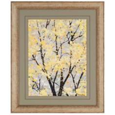 "Early Spring I 34"" High Framed Wall Art"