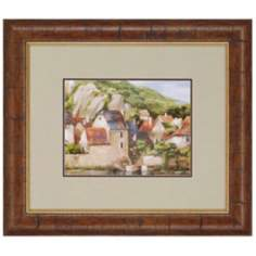 "La Seyne-Sur-Mer France 29"" Wide Framed Wall Art"