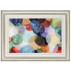 "Crowded Universe 45"" Wide Abstract Wall Art"