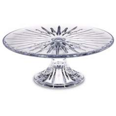 Reed and Barton Soho Pedestal Crystal Cakestand