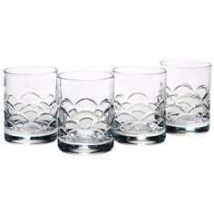 Set of 4 Reed and Barton Cove Old Fashioned Glasses