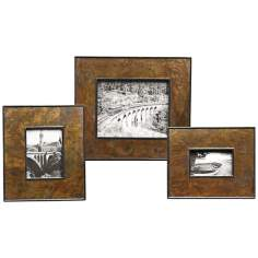 Uttermost Set of 3 Adamo Photo Frames