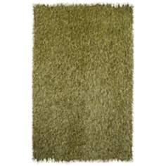Resort Grazin in the Grass 25150 Green Shag Outdoor Rug