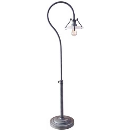 Feiss Urban Renewal Weathered Zinc Floor Lamp
