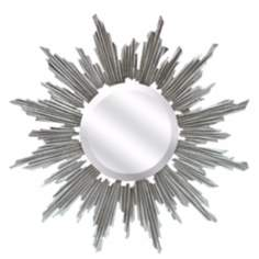 "Diam Celestial 31 1/2"" Wide Sunburst Wall Mirror"