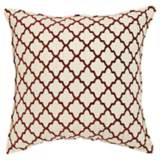 "Casablanca Burnt Orange 20"" Square Down Throw Pillow"