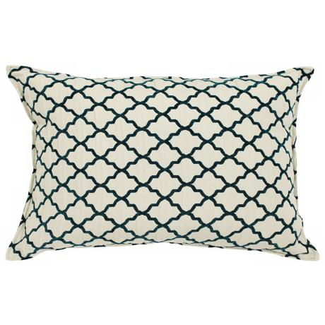 "Casablanca Jade 20"" Wide Down Throw Pillow"
