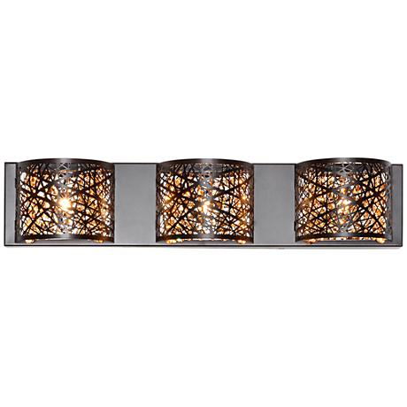 "ET2 Inca 24"" Wide Bronze LED Bath Light"