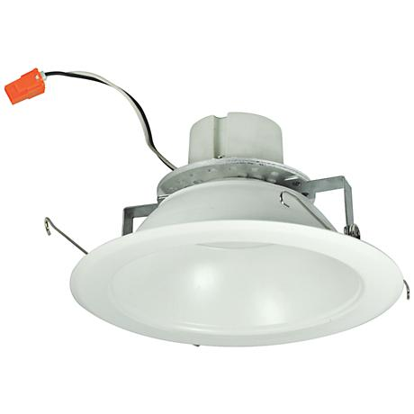 "6"" Nora 16.6 Watt 3000K LED Reflector Retrofit Trim in White"
