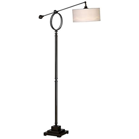 Uttermost Levisa Dark Bronze Adjustable Floor Lamp