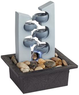Five Cups LED Tabletop Zen Fountain (1G446) 1G446