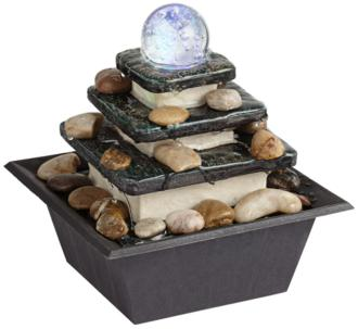 Rolling Ball Three Tier Tabletop Zen Fountain (1G497) 1G497
