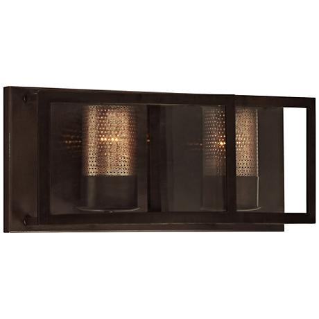 "Varaluz Jackson 18"" Wide Rustic Bronze Bath Light"