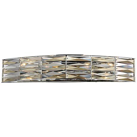 "Savoy House Lancaster 26"" Wide 4-Light Chrome Bath Light"