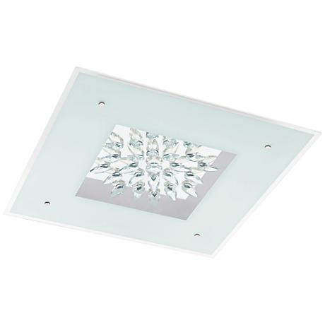"Eglo Benalua 22 1/2"" Wide Crystal LED Ceiling Light"