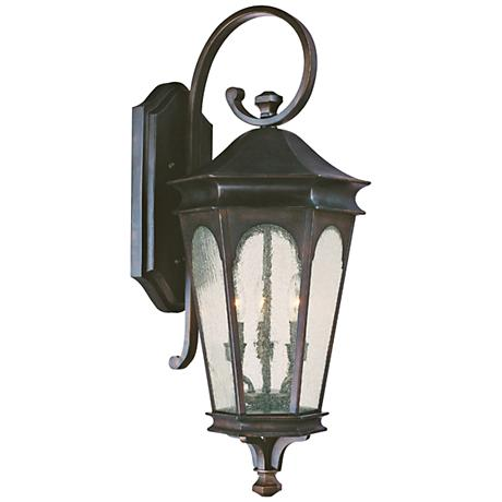 "Capital Inman Park 32 1/2"" High Bronze Outdoor Wall Light"