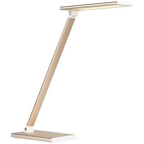 Maks Gold LED Desk Lamp