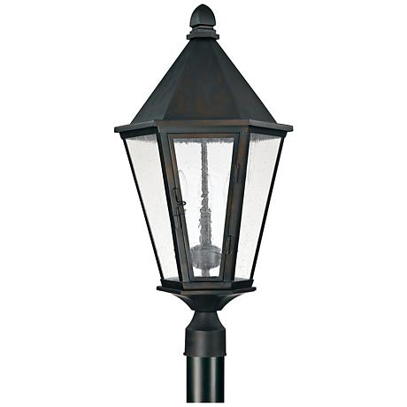 "Capital Spencer 27 1/2""H Old Bronze Outdoor Post Light"