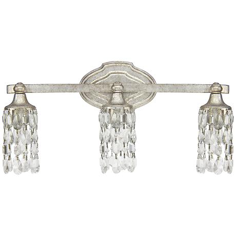 "Capital Blakely 20 1/2""W 3-Light Matte Silver Bath Light"