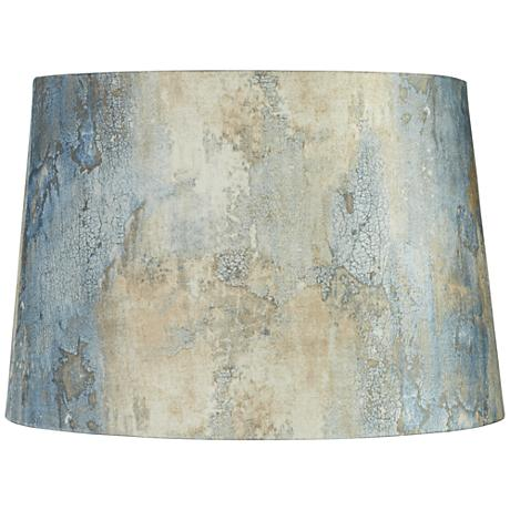 Weathered Wall Drum Lamp Shade 14x16x11 (Spider)