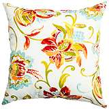 "Jubilee Multi-Color 18"" Square Outdoor Pillow"