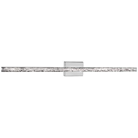 "Ice 25"" Wide Natural Ice Crystal LED Bath Light"